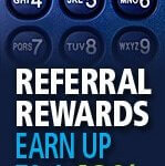 Earn up to a 10 Percent Referral Discount